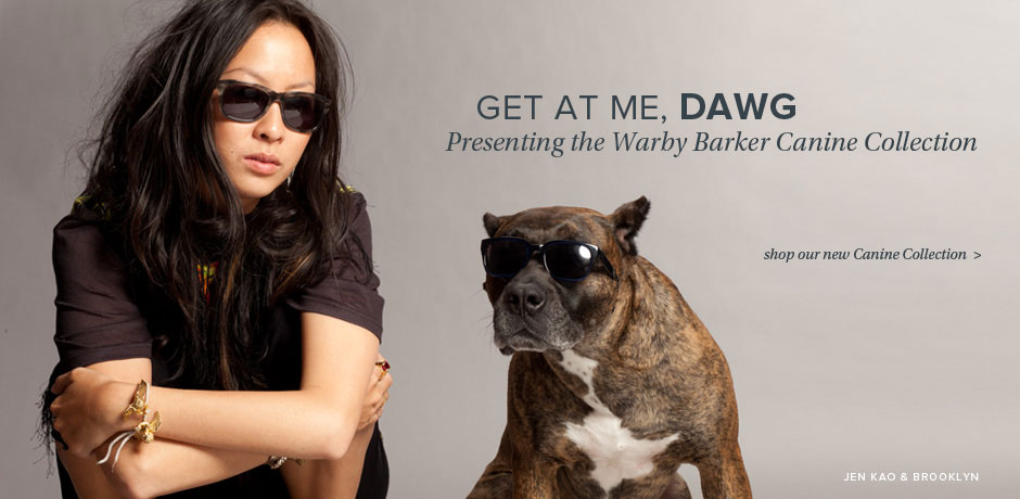 Get At Me Dawg: Presenting the Warby Barker Canine Collection